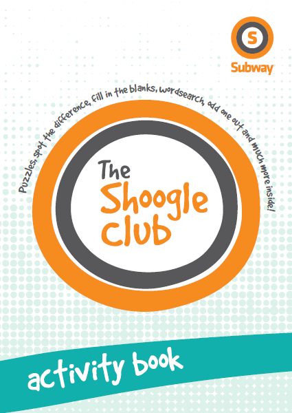 Shoogle Club activity book