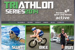 Borders Sport & Leisure - Triathlon micosite